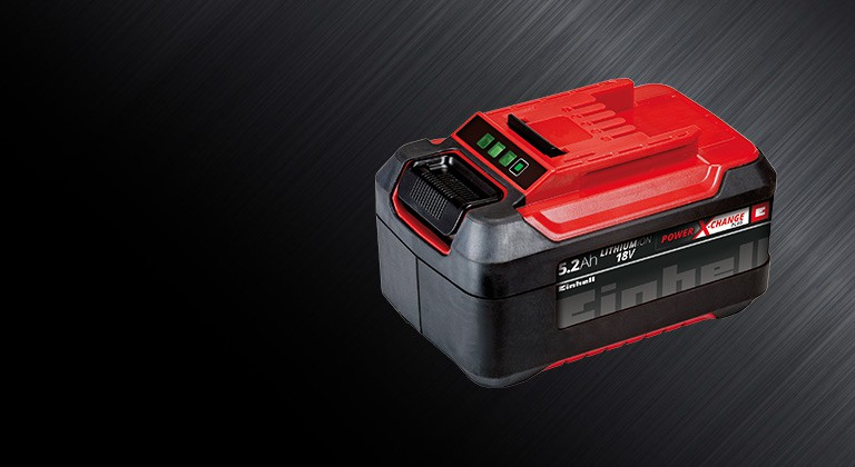 More power for large projects with the powerful Power X-Change Plus battery pack.