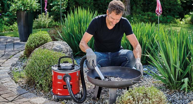ash vacuum cleaner from Einhell