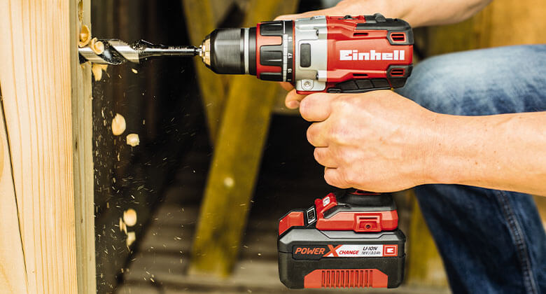 cordless impact drill from Einhell