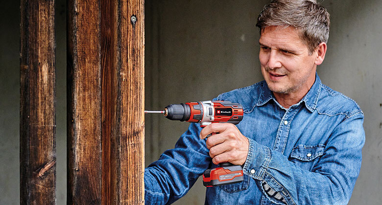 cordless screwdriver from Einhell are efficient