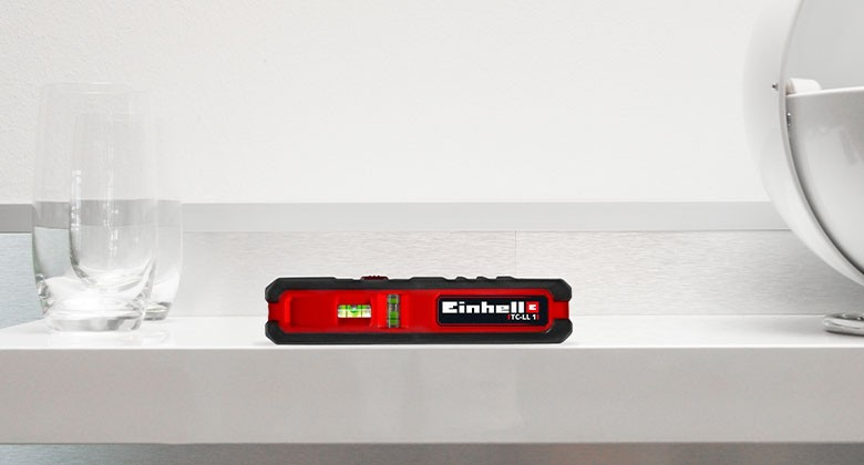 Accurate measurement with Einhell laser measuring tools