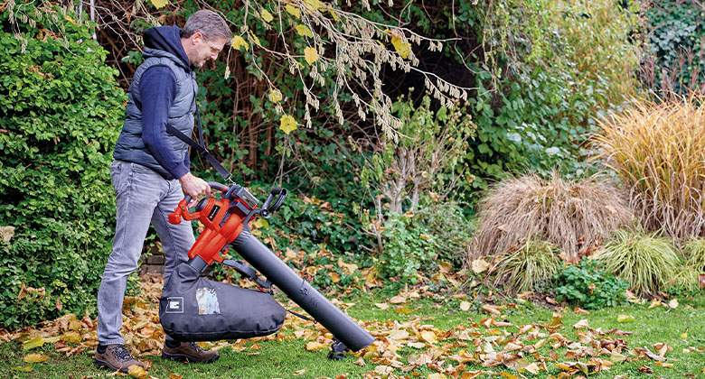 cordless leaf vacuum from Einhell